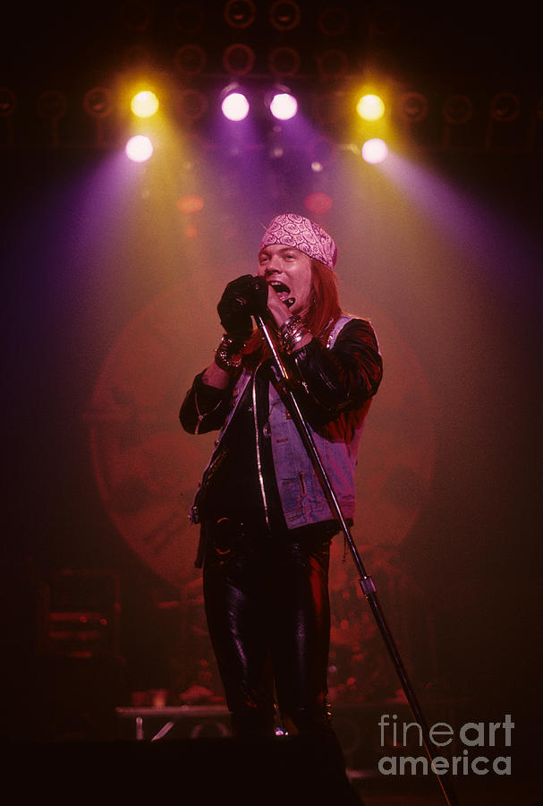 Axl Rose Photograph