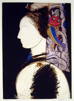 Beatrice II Painting