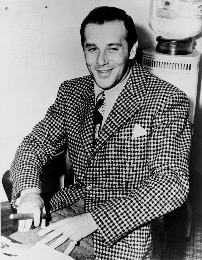Benny Bugsy Siegel 1906-1947 Photograph  - Benny Bugsy Siegel 1906-1947 Fine Art Print