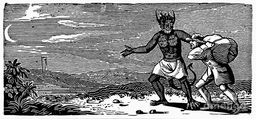 Bewick Photograph - Bewick: Devil by Granger