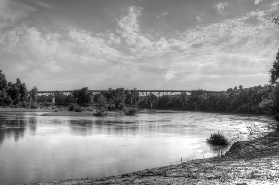 Black River Bridge At Black Rock Arkansas Photograph  - Black River Bridge At Black Rock Arkansas Fine Art Print