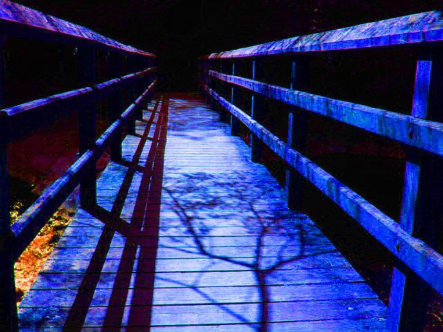 Landscape Photograph - Bridge To Nowhere by Val Oconnor