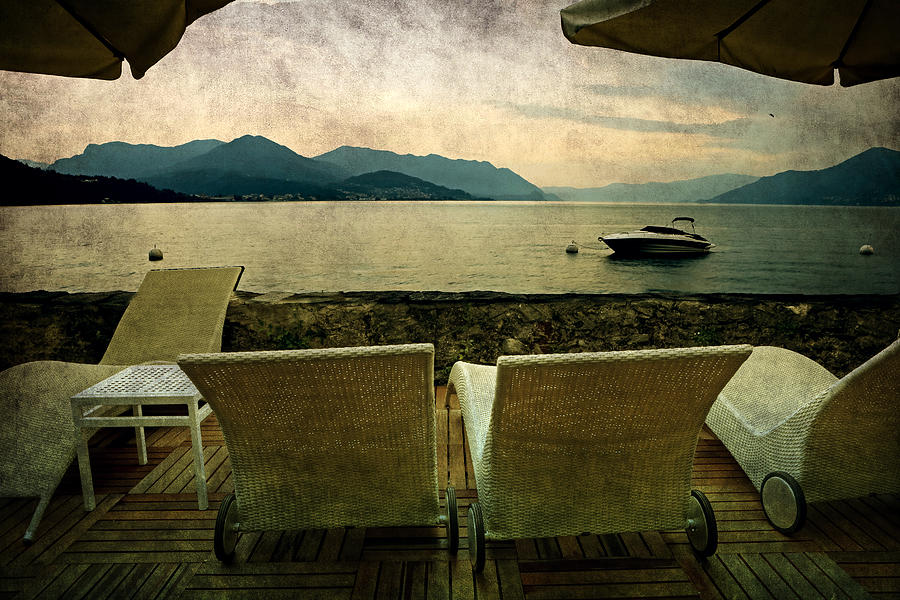 Canvas Chairs Photograph  - Canvas Chairs Fine Art Print
