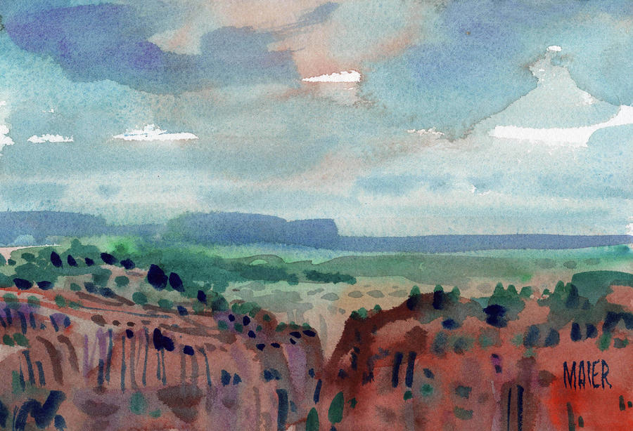 Canyon Overlook Painting