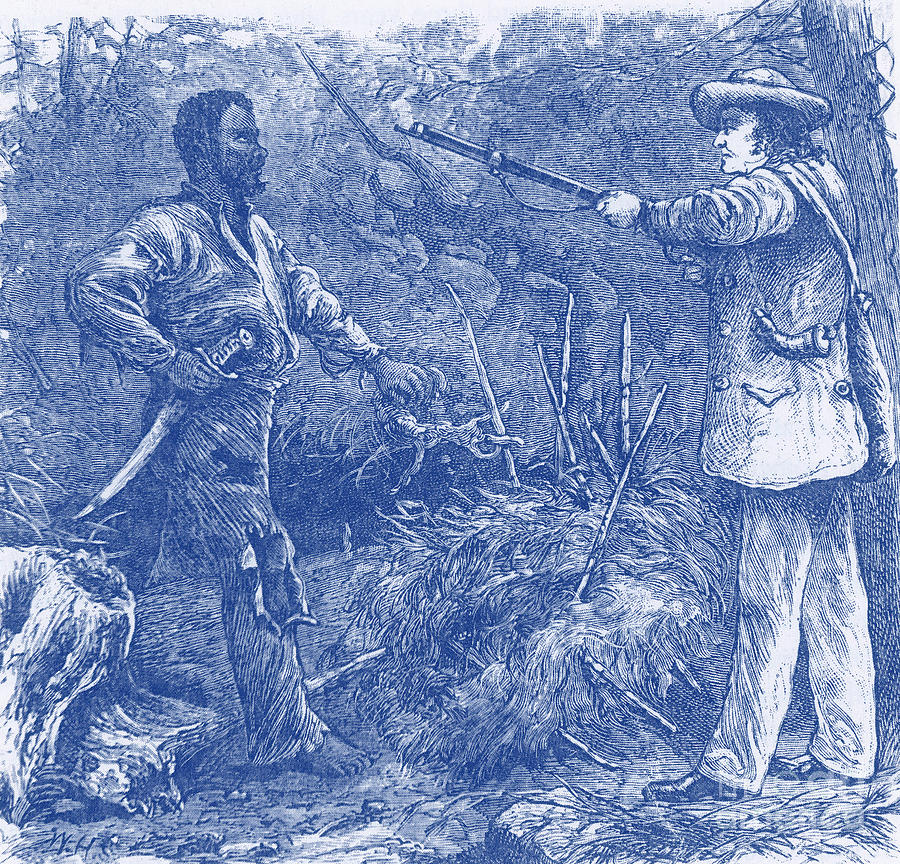 Capture Of Nat Turner, American Rebel Photograph