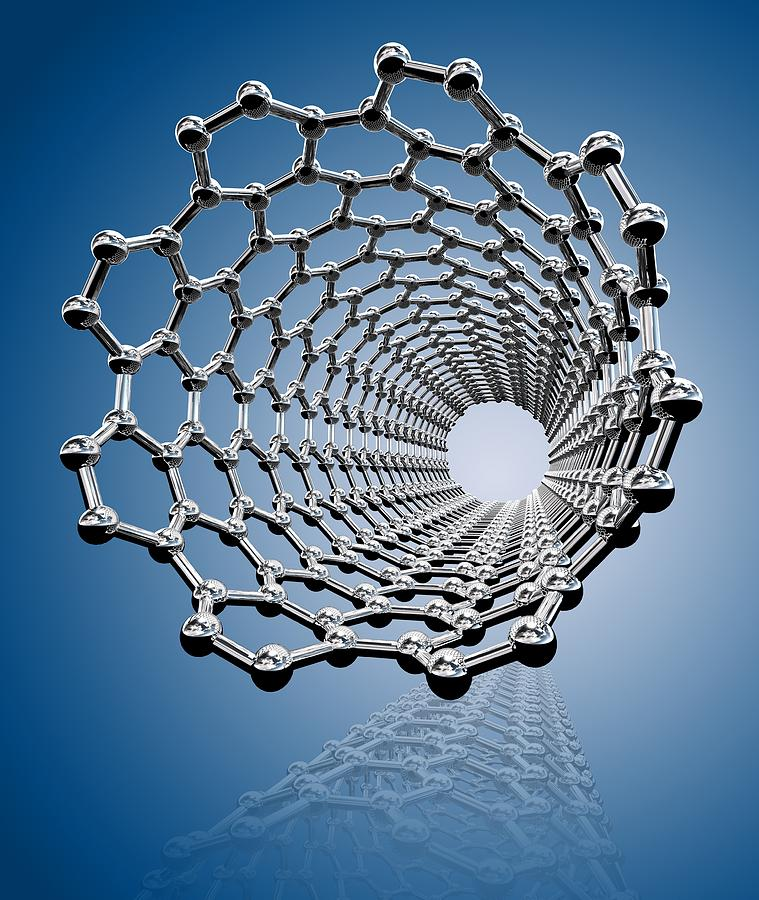 Carbon Nanotube, Artwork Photograph  - Carbon Nanotube, Artwork Fine Art Print