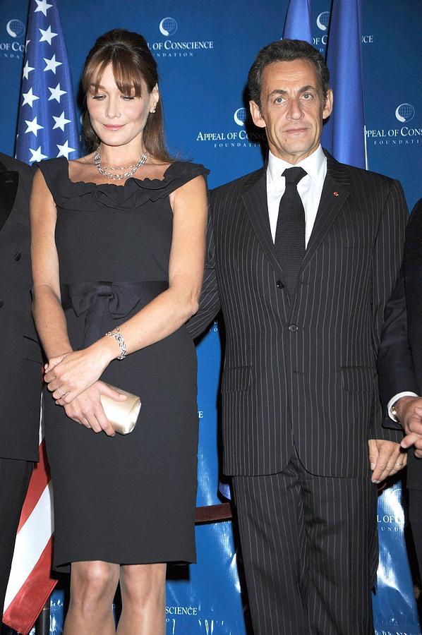 Carla Bruni Sarkozy, Nicolas Sarkozy Photograph