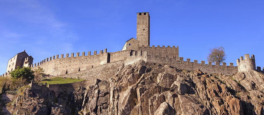 Castelgrande - Bellinzona Photograph