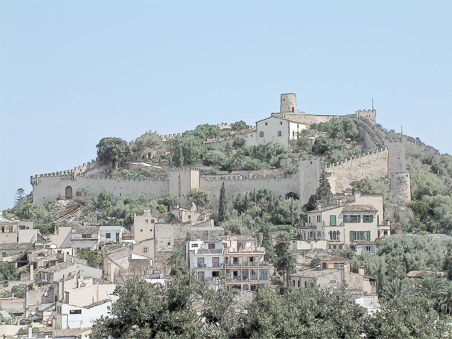 Castell De Capdepera Capdepera Mallorca Photograph by Joseph Hendrix