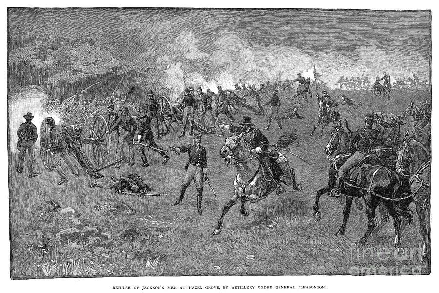 1863 Photograph - Chancellorsville, 1863 by Granger
