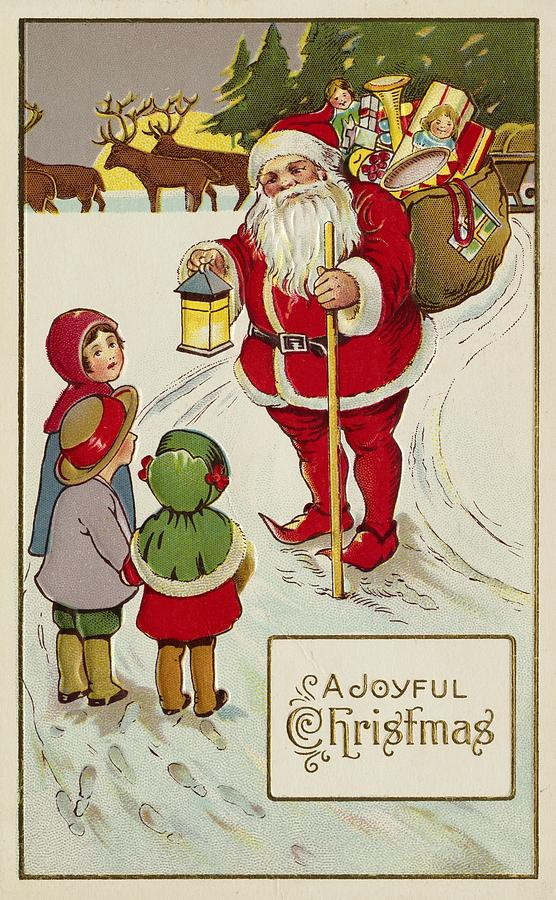 Christmas Card Painting
