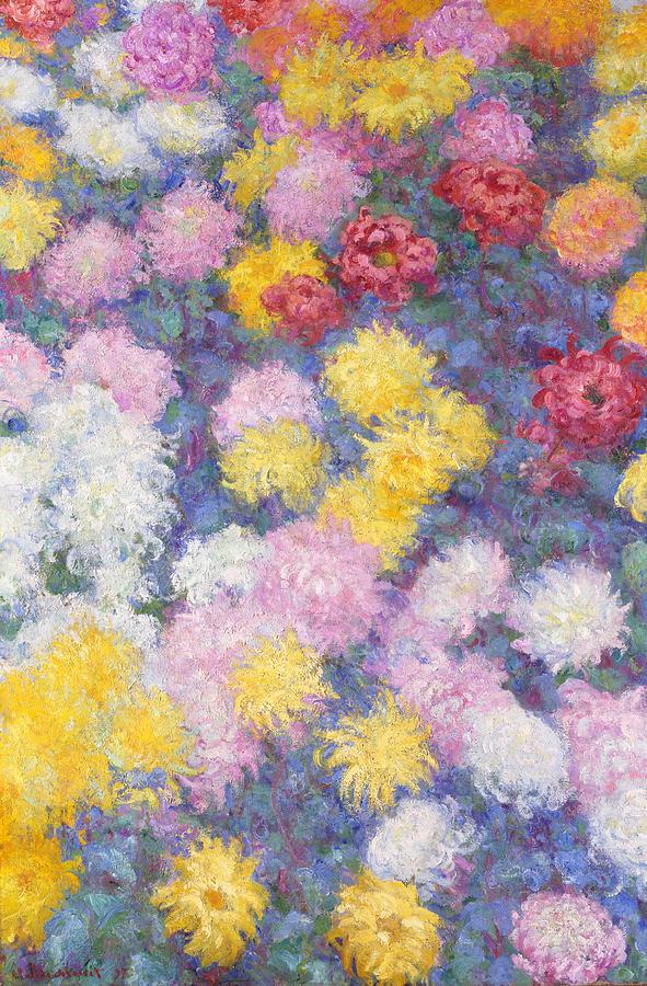 Chrysanthemums Painting
