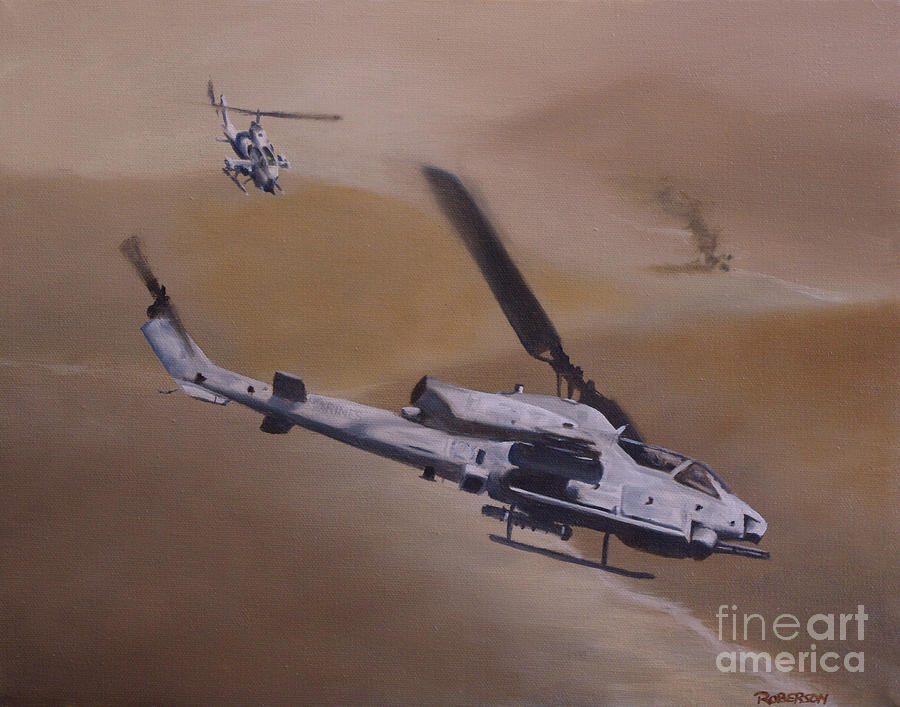 Close Air Support Painting