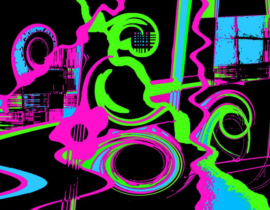 Cosmic Dj Digital Art