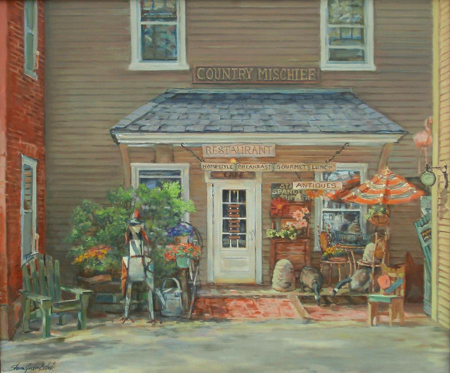 Country Mischief Painting