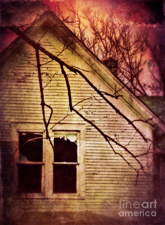 Creepy Abandoned House Photograph