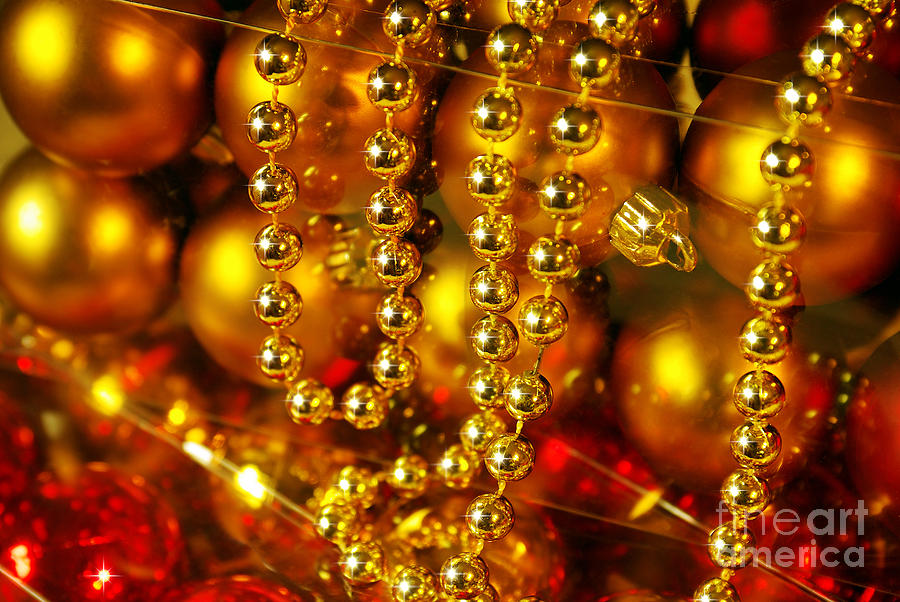 Crhistmas Decorations Photograph  - Crhistmas Decorations Fine Art Print