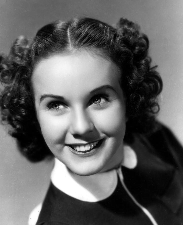 Durbin Photograph - Deanna Durbin, 1937 by Everett