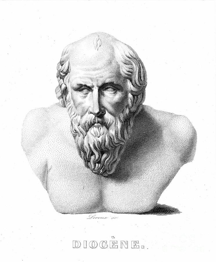 19th Century Photograph - Diogenes (d. C320 B.c.) by Granger