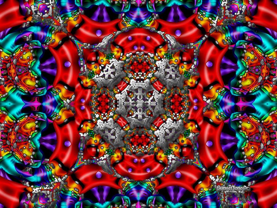 Colorful Digital Art - Dream Catcher by Robert Orinski