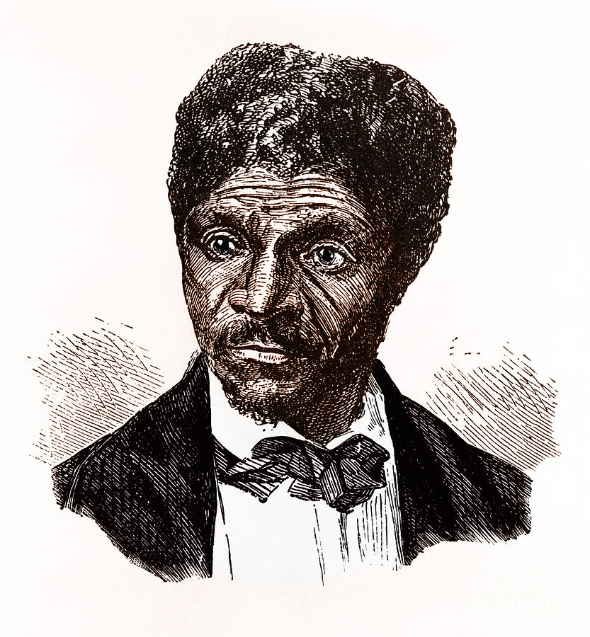 Dred Scott, African-american Hero Photograph
