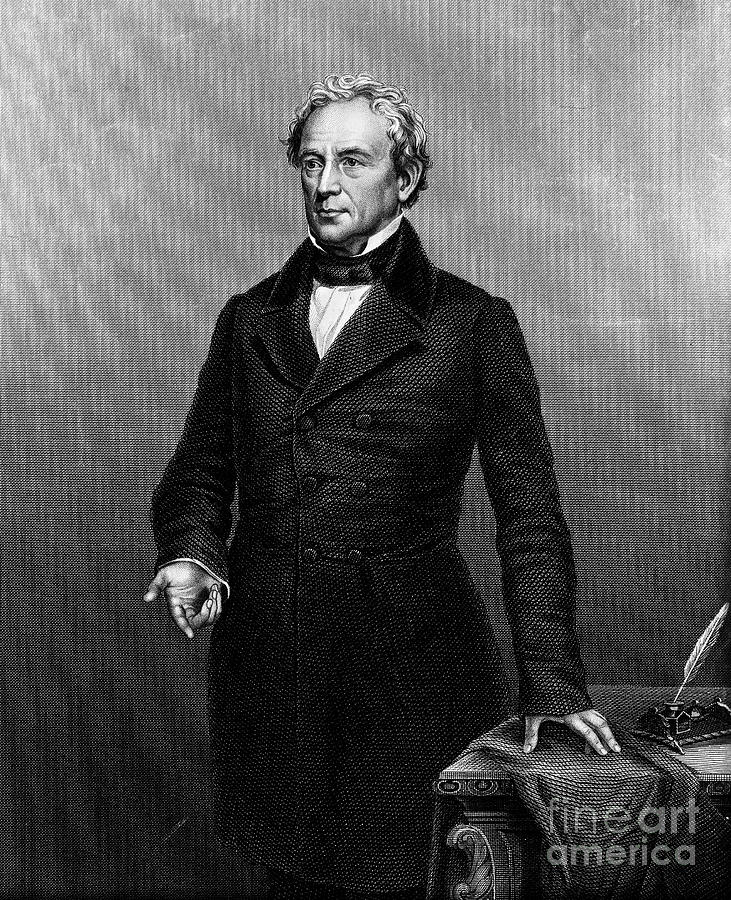 Edward Everett (1794-1865) Photograph  - Edward Everett (1794-1865) Fine Art Print