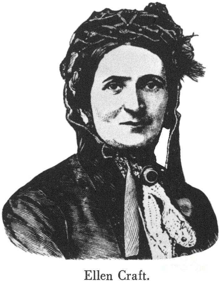 Ellen Craft (b.1826) Photograph