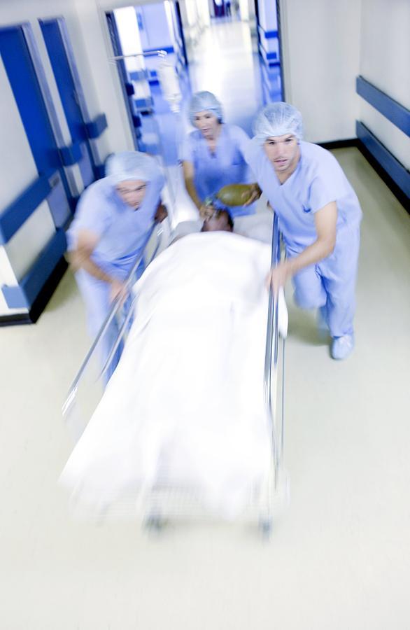 Emergency Hospital Treatment Photograph