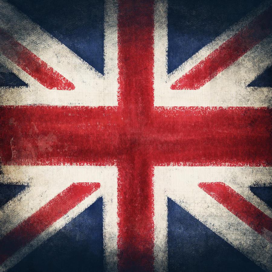 England Flag Photograph