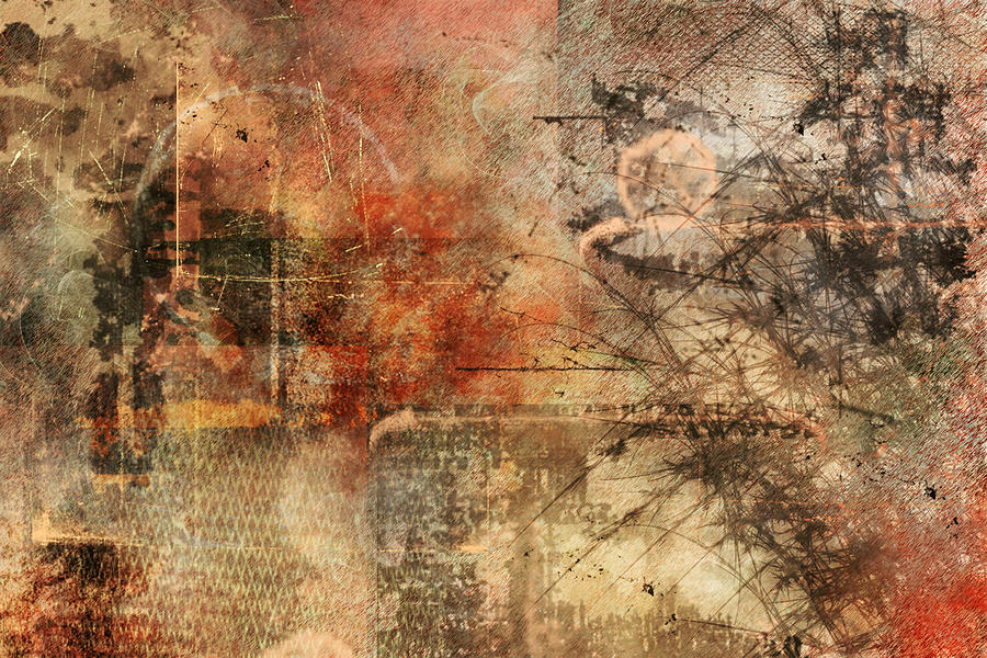 Entropy Painting - Entropy by Christopher Gaston
