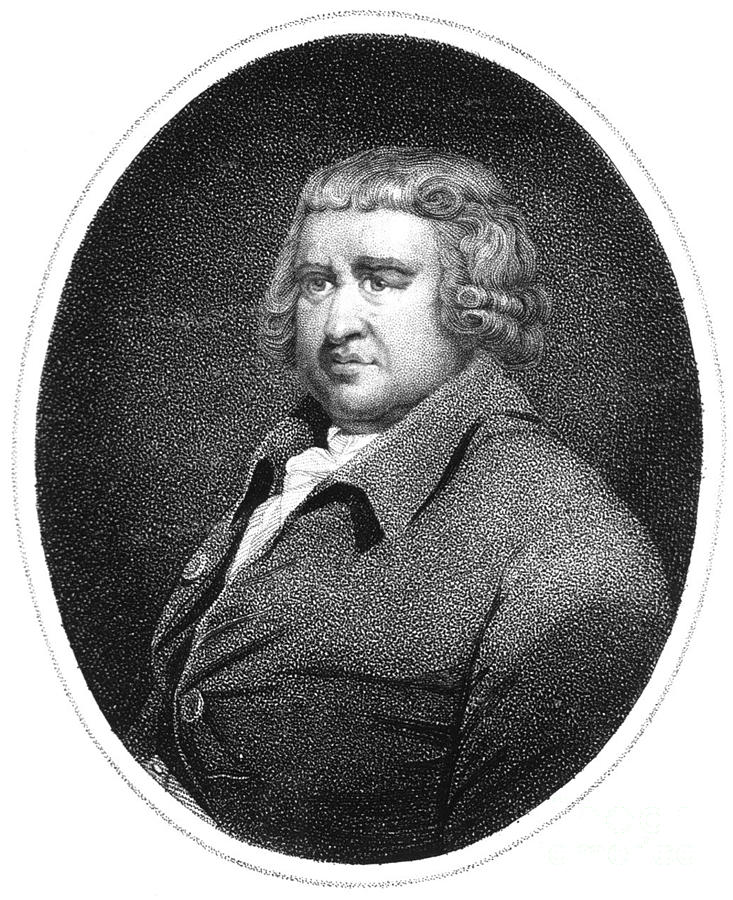 Erasmus Darwin, English Polymath Photograph
