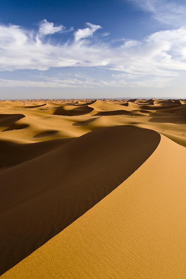 Erg Chigaga, Sahara Desert, Morocco, Africa Photograph