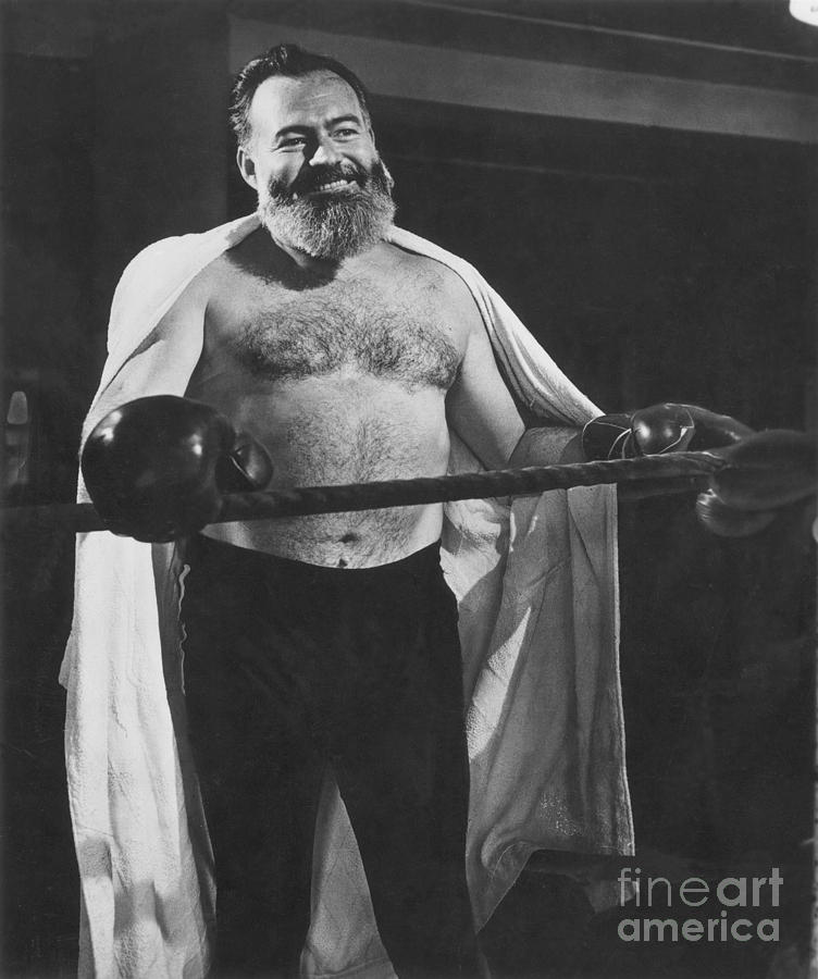 Ernest Hemingway Photograph