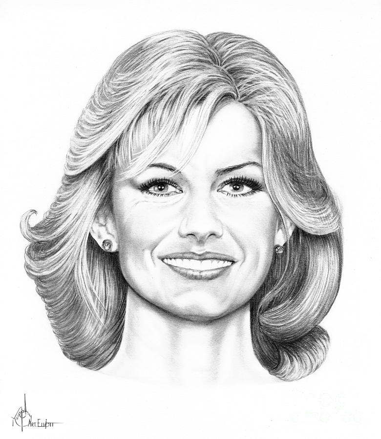 Faith Hill Drawing