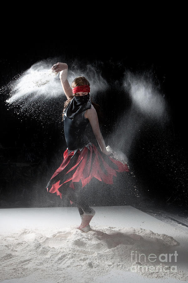 Flour Dancer Series Photograph