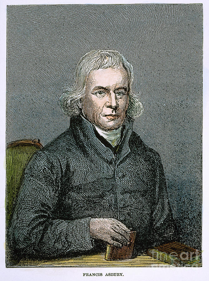 18th Century Photograph - Francis Asbury (1745-1816) by Granger