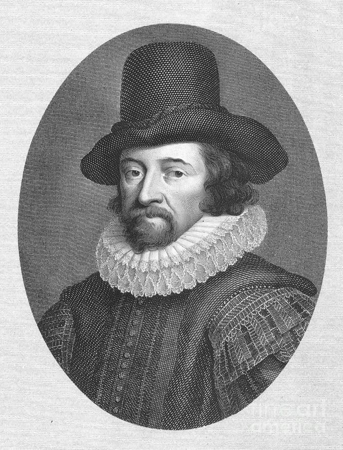Francis Bacon (1561-1626) Photograph  - Francis Bacon (1561-1626) Fine Art Print