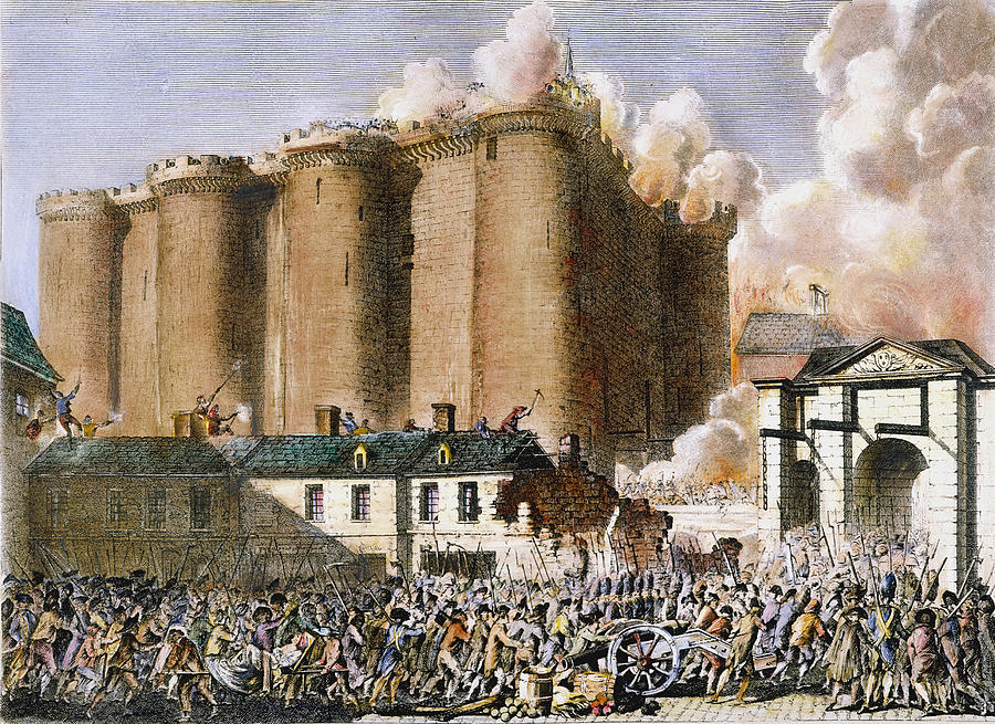 fall of bastille french revolution