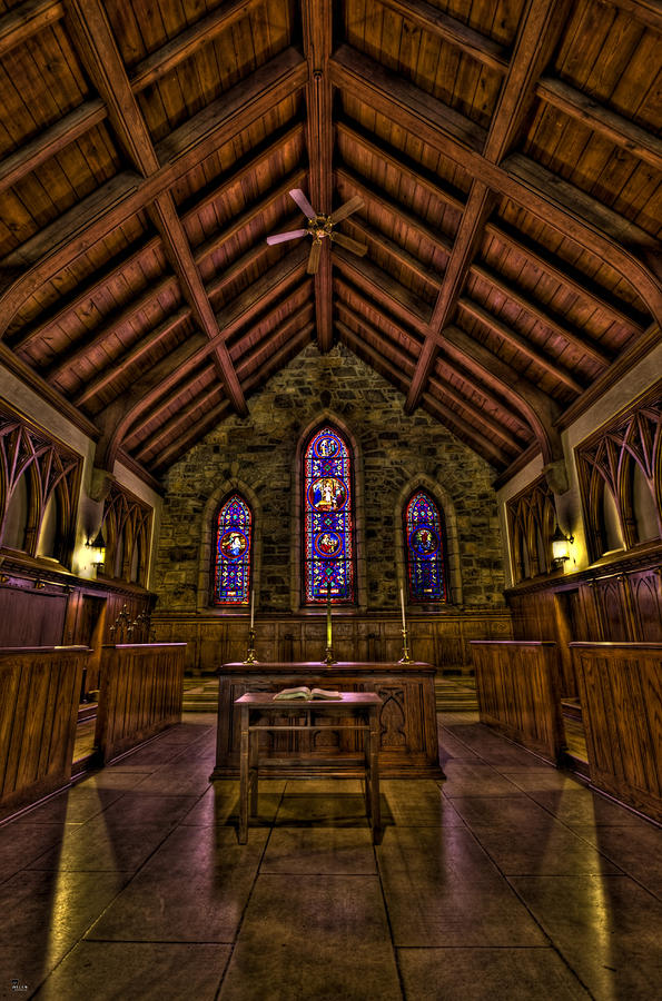 Frost Chapel Hdr Photograph