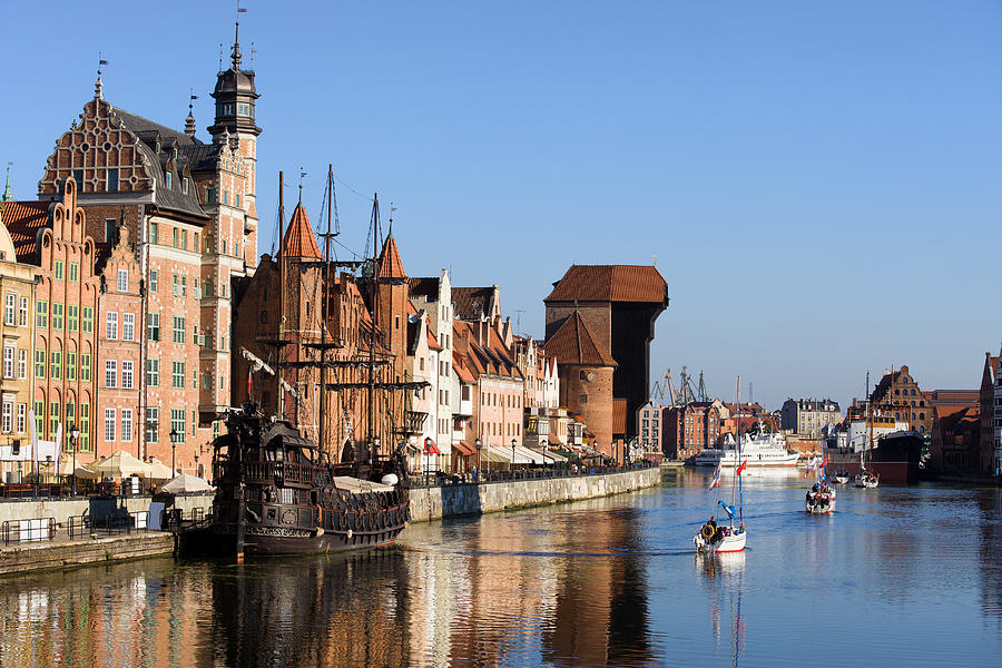Gdansk In Poland Photograph  - Gdansk In Poland Fine Art Print