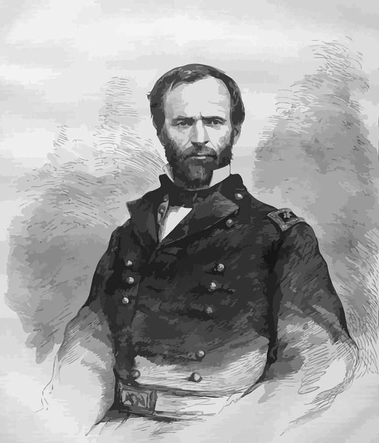 General Sherman Digital Art