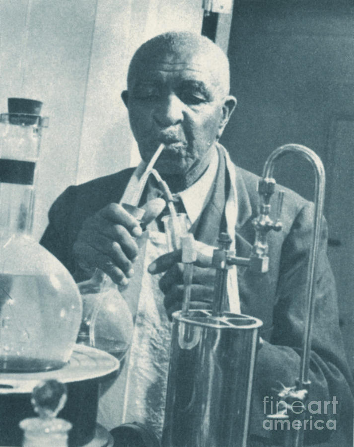 George W. Carver, African-american Photograph