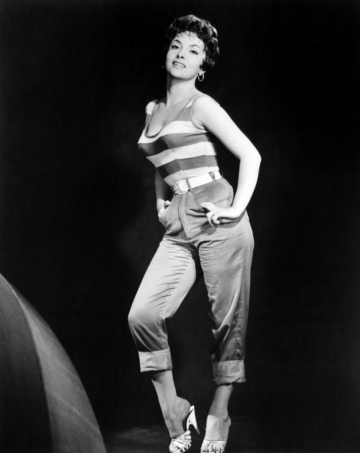 Gina Lollobrigida, Ca. Late 1950s Photograph