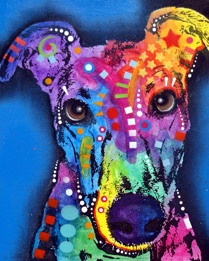 Greyhound Painting  - Greyhound Fine Art Print