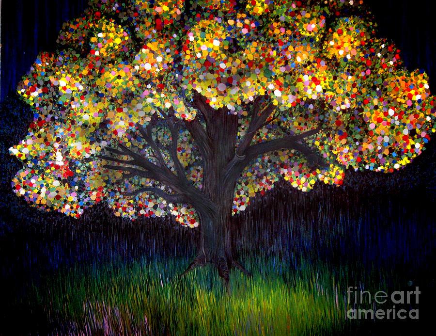 Gumball Tree 0001 Painting