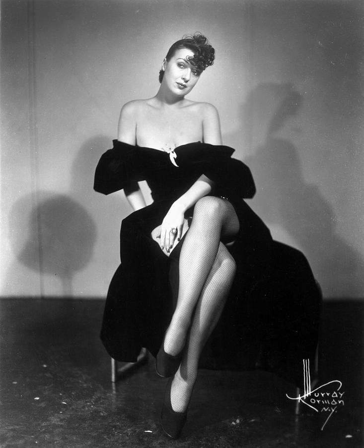 Gypsy Rose Lee (1913-1970) Photograph  - Gypsy Rose Lee (1913-1970) Fine Art Print