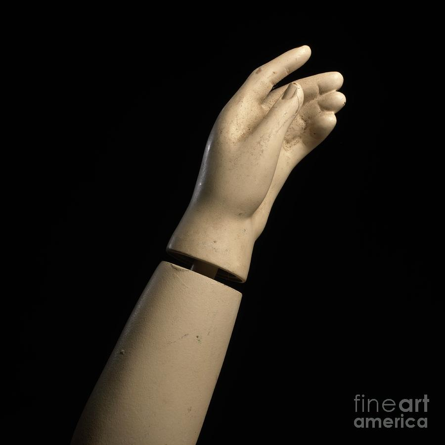 Hand Of Dummy Photograph  - Hand Of Dummy Fine Art Print