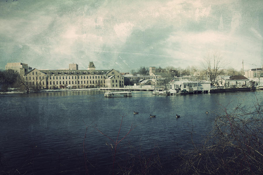 Historic Fox River Mills Photograph  - Historic Fox River Mills Fine Art Print