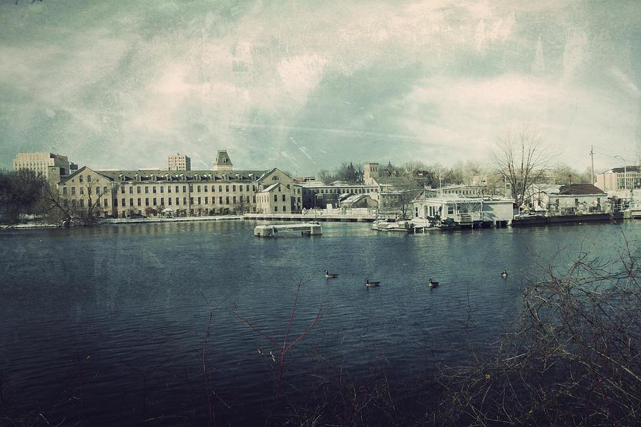Historic Fox River Mills Photograph