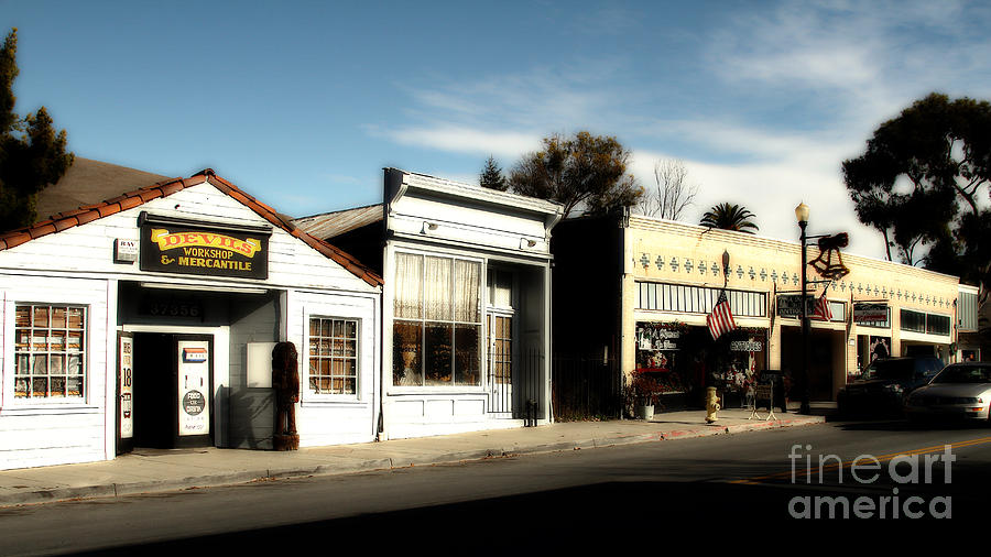Historic Niles District In California Near Fremont . Main Street . Niles Boulevard . 7d10676 Photograph